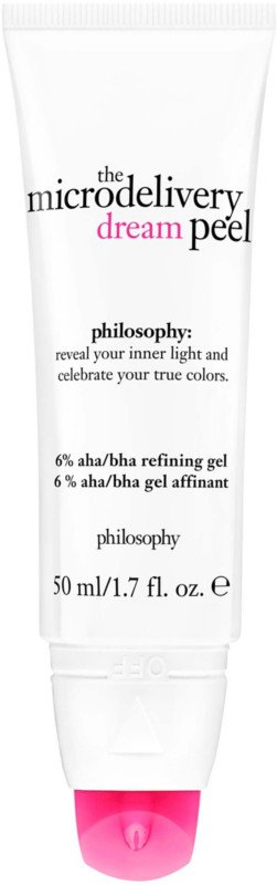 The Microdelivery Dream Peel 6% AHA/BHA Refining Gel